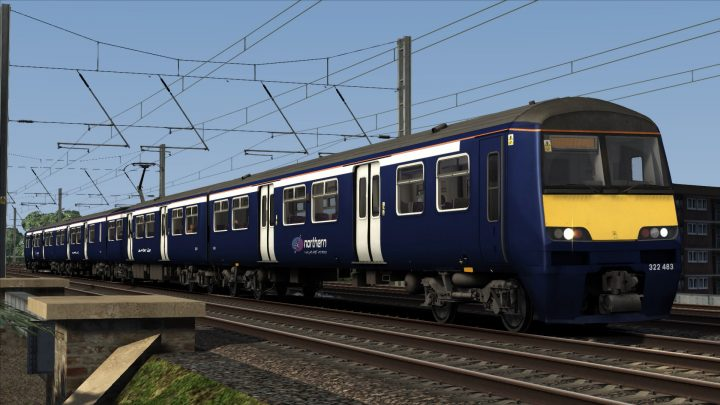 Class 322: Ex-Scotrail Northern Rail