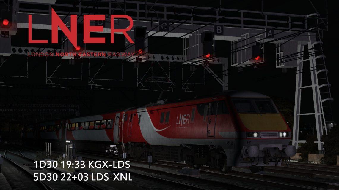 1D30 19:33 KGX-LDS / 5D30 22+03 LDS-XNL