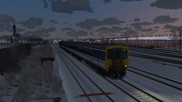 [KL 1999] 16:53 Blackpool North to Manchester Airport