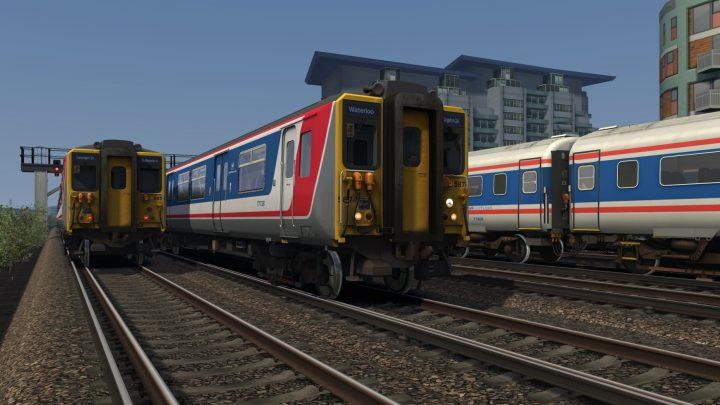 2H08: 0808 Shepperton to London Waterloo (1994)