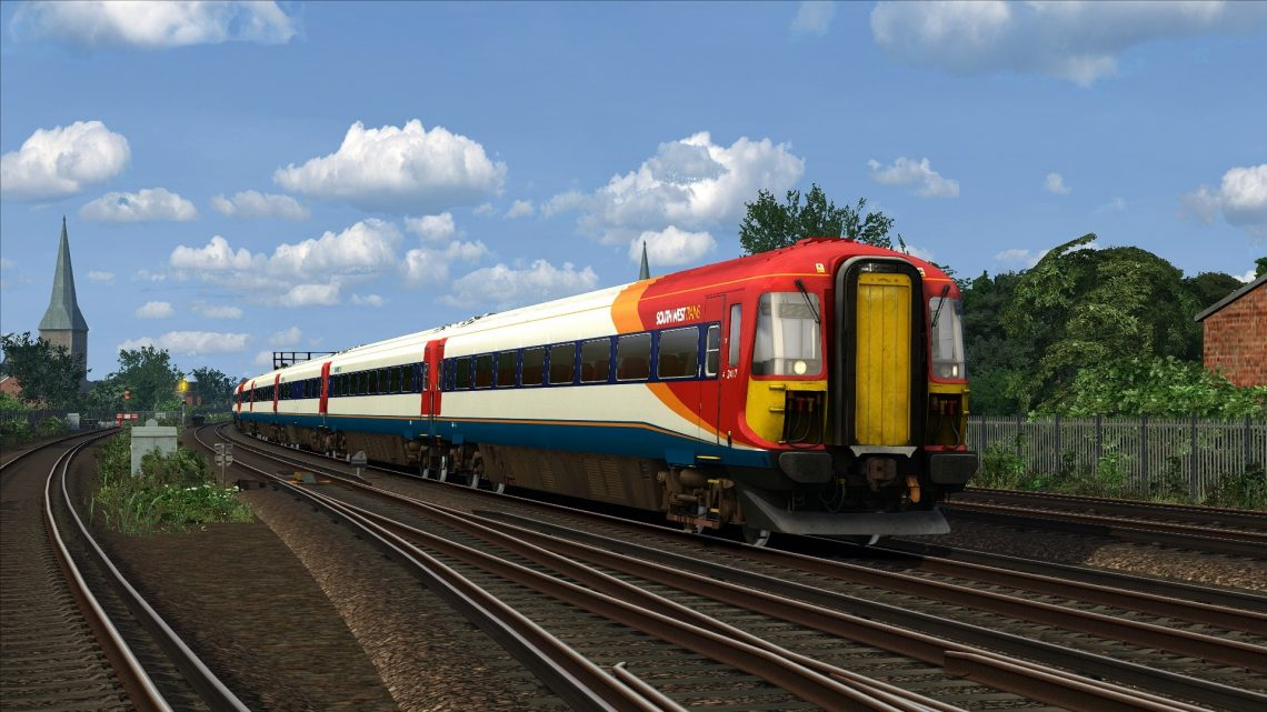 1P59 17:51 London Waterloo – Portsmouth Harbour (2003)