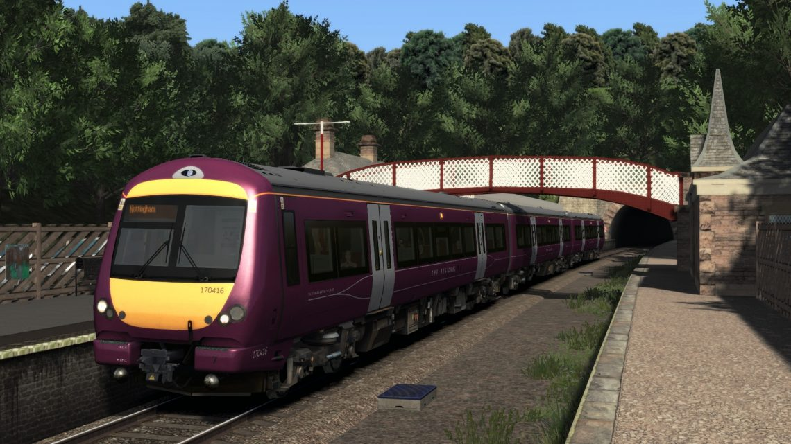 2A19 09:14 Matlock to Nottingham