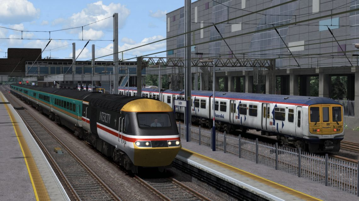 1C21 11:37 Nottingham to London St Pancras