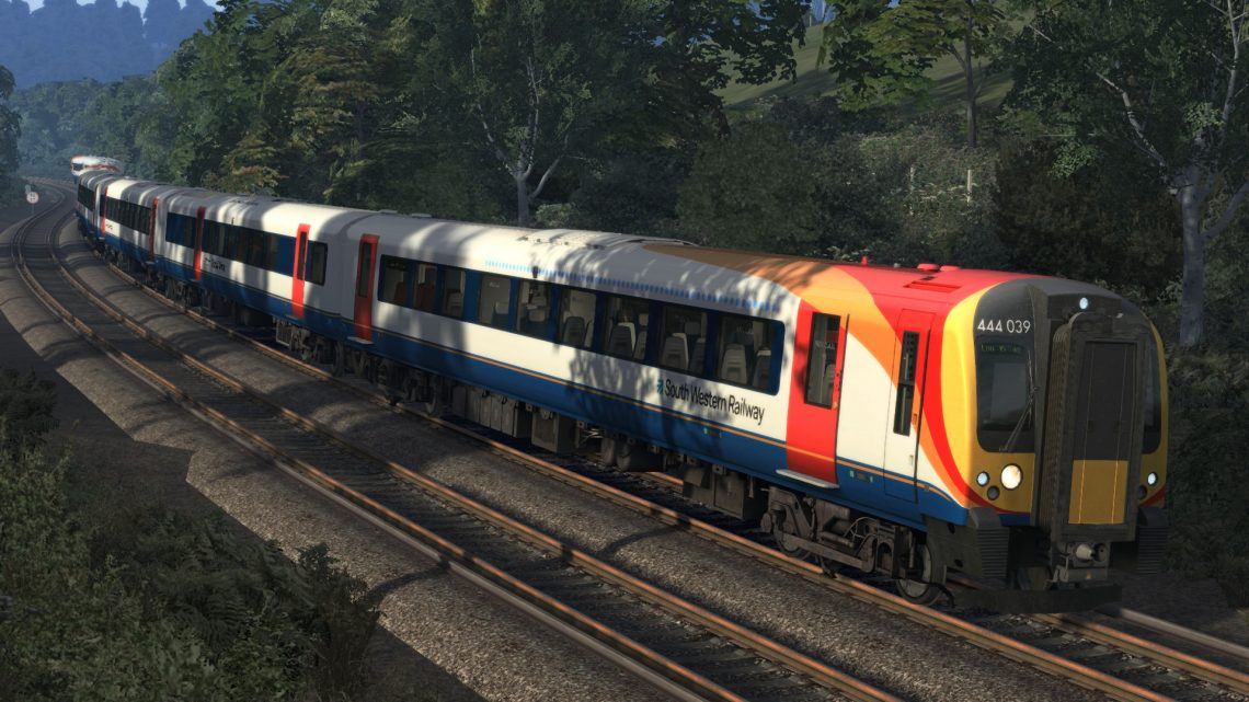 1P16 06:15 Portsmouth Harbour to London Waterloo