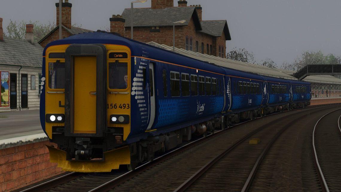2L79 – 16:02 Dumfries to Carlisle