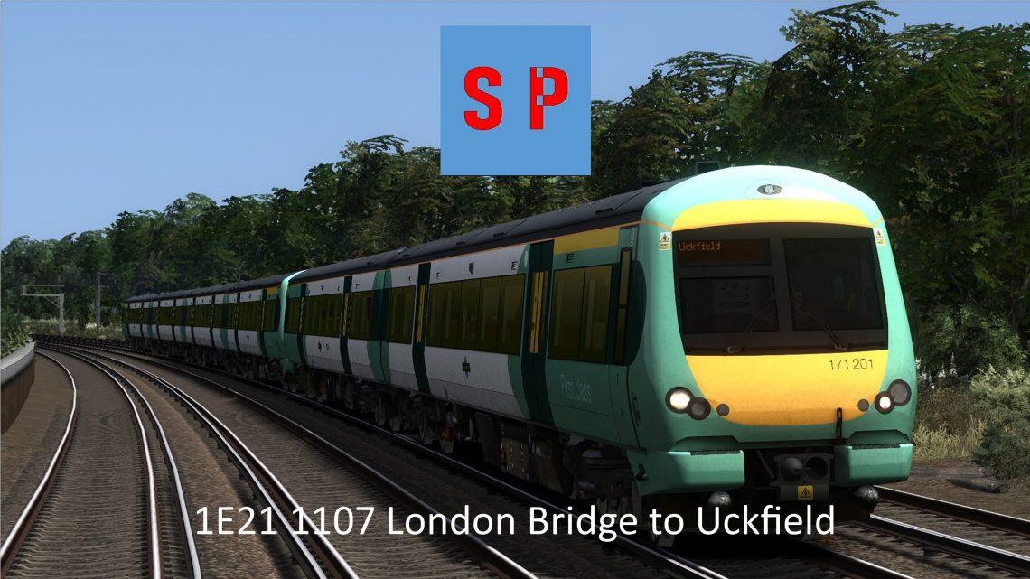 1E21 1107 London Bridge to Uckfield