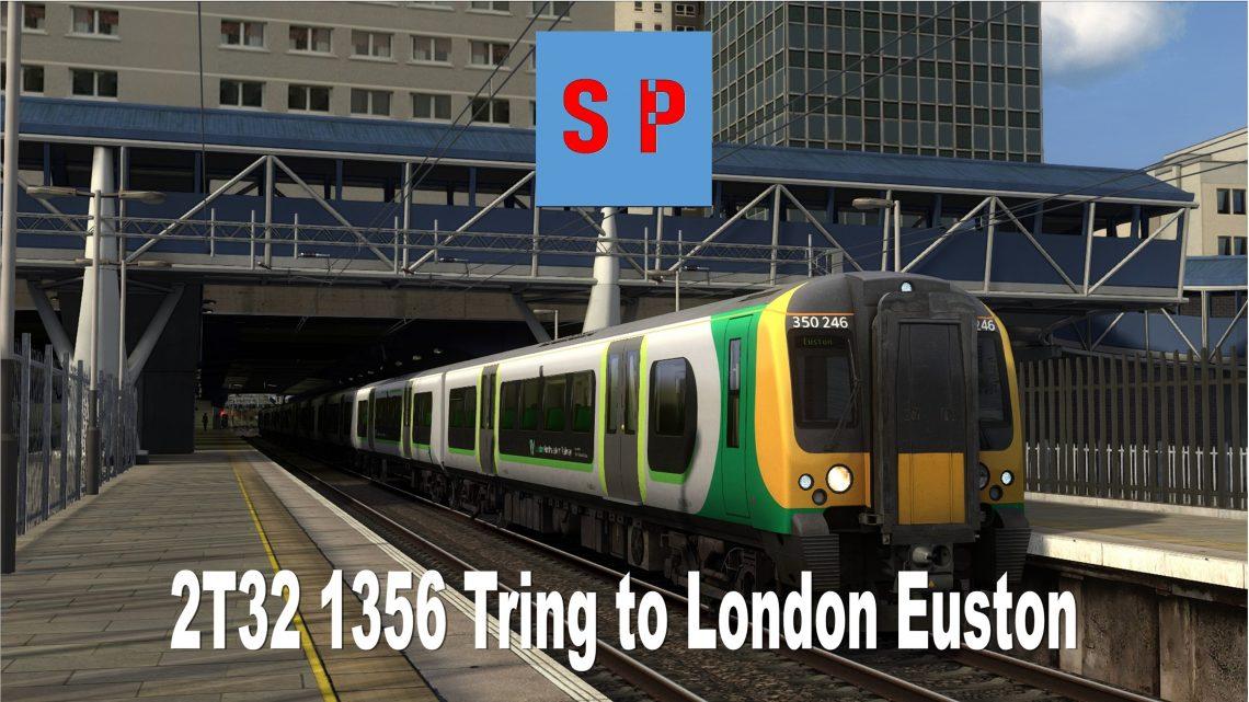 2T32 1356 Tring to London Euston