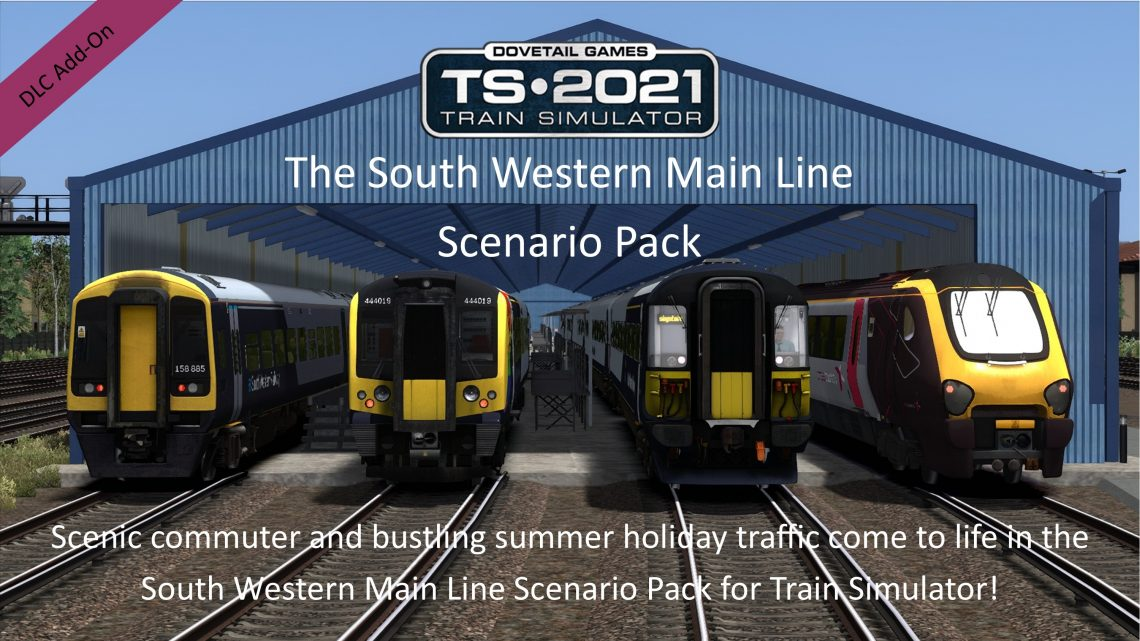 The South Western Main Line Scenario Pack 2019-2021 Volume 1 Add-On