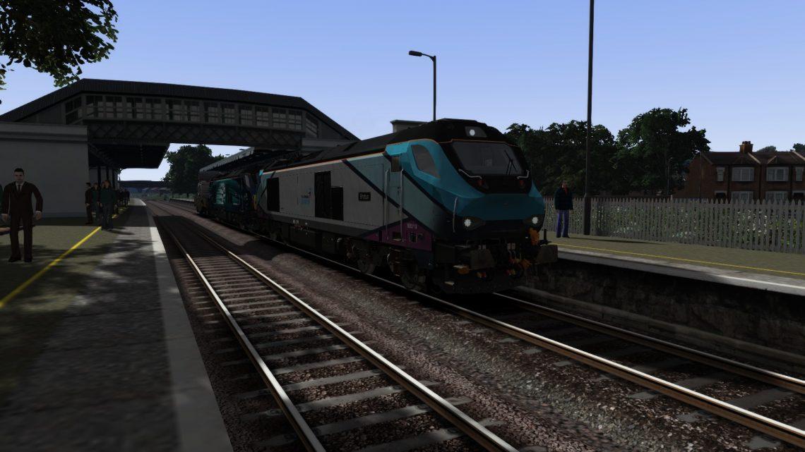 [CT] 6M63 12:00 Bridgwater F.D-Crewe Coal Sidings DRS