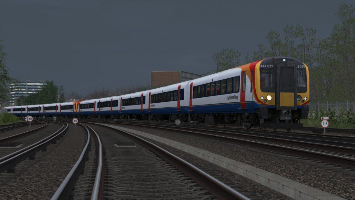 SP: 1W37 18:35 London Waterloo – Weymouth