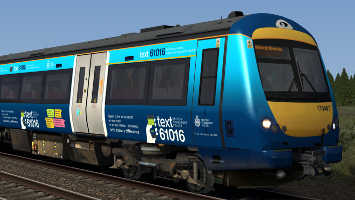 Class 170 – British Transport Police (170407) V2