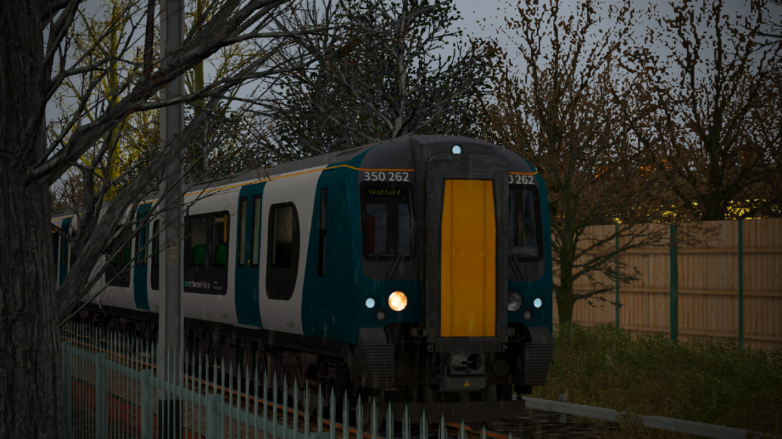 16:52 2F32: St Albans Abbey – Watford Junction