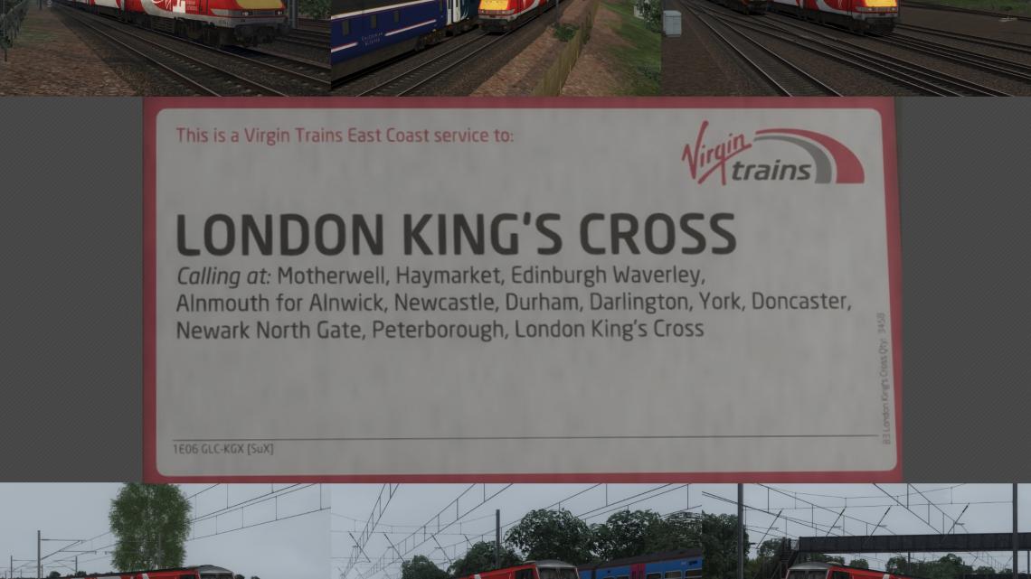 1E06 06:50 Glasgow Central to London Kings Cross full run (2016)
