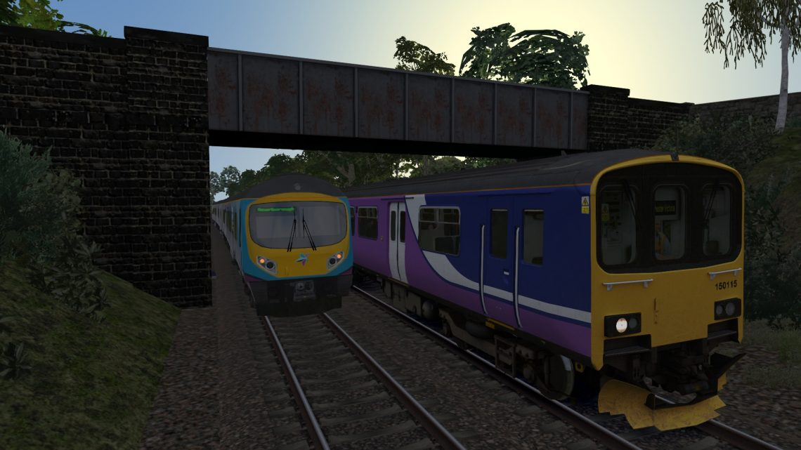 (AT) 2M95- 06:31 Huddersfield to Manchester Victoria