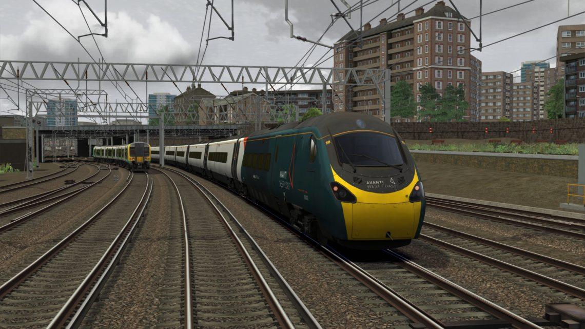 1T40 1003 Stafford to London Euston