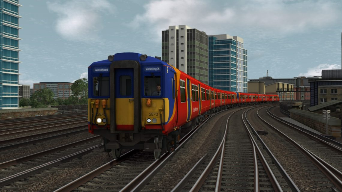 2F09 0710 London Waterloo to Guildford