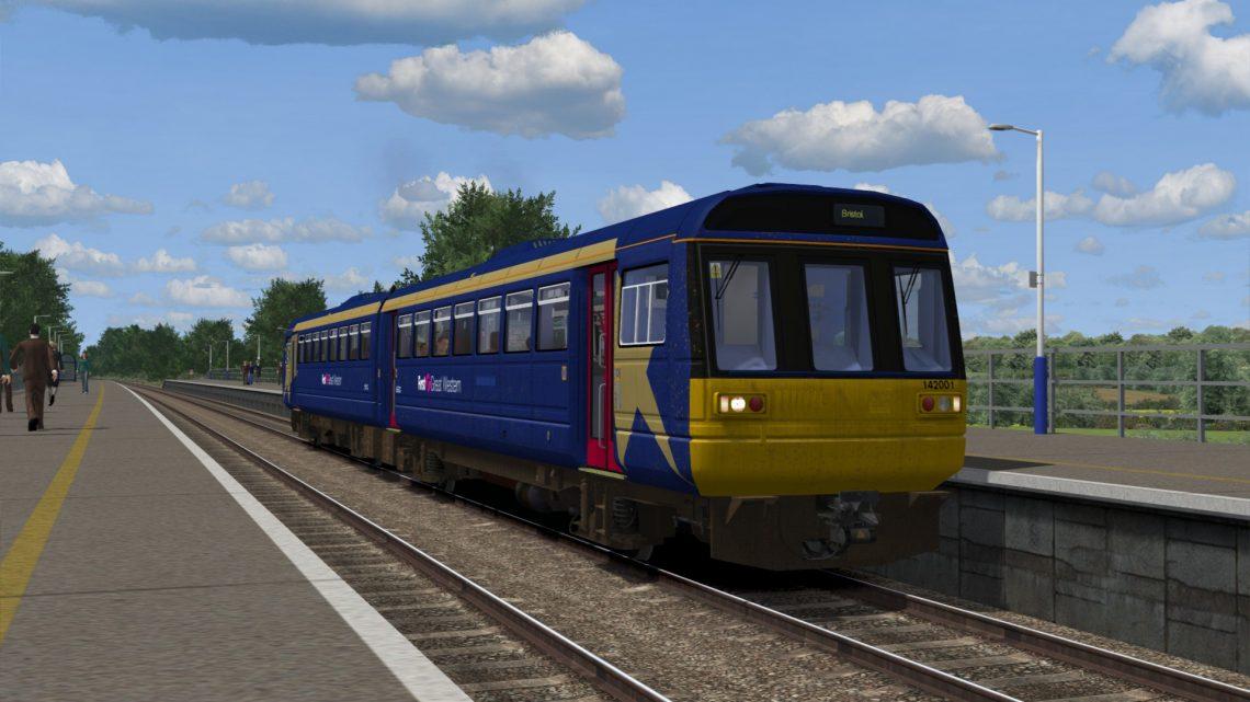 2D10 1110 Weston-super-Mare to Bristol Parkway