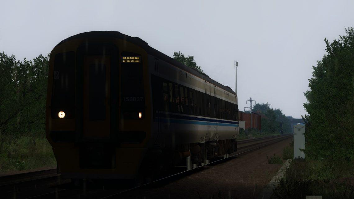 1M08 15:20 Penzance to Birmingham Class 158 1995 [BP]