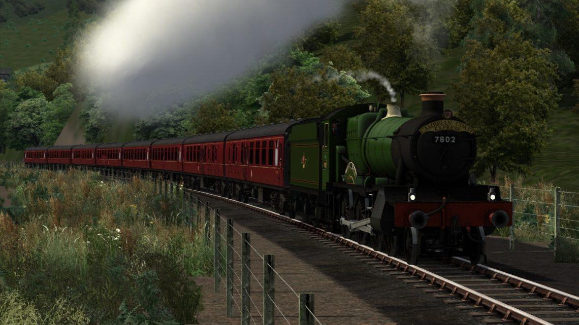 The Cambrian Coast Express – 7802