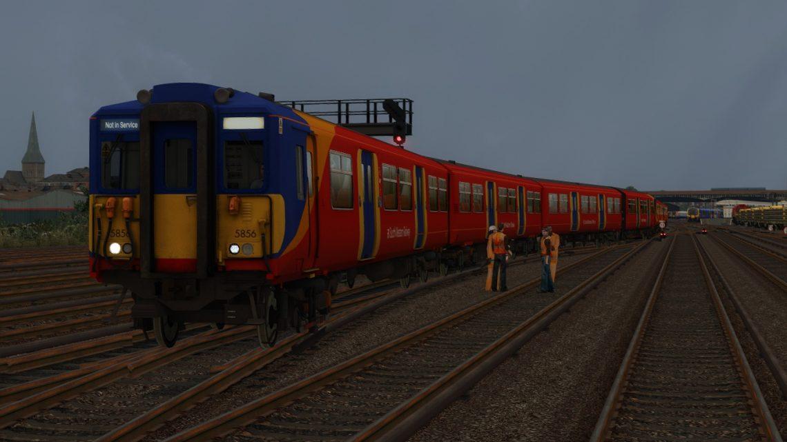 5J05 5:25 Clapham Yard Sidings-London Waterloo