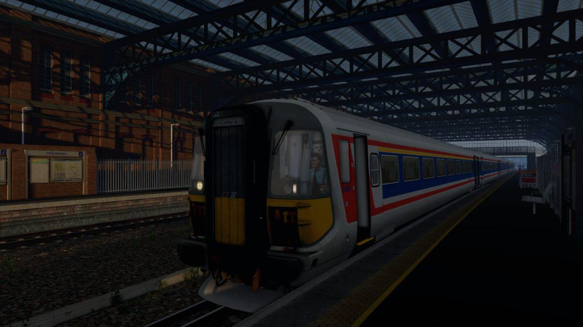[BT] 1B72 06:26 Poole to London Waterloo – Wessex Electrics