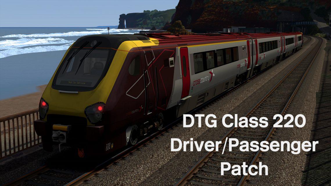 DTG Class 220 Driver & Passenger Patch