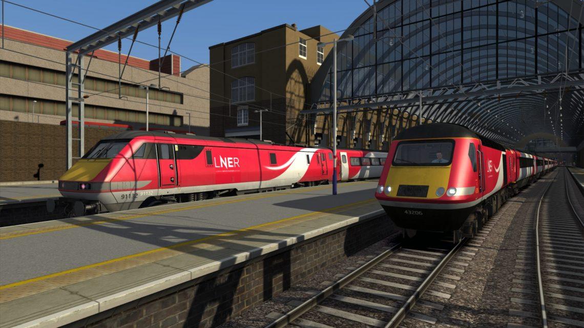 (DT) 1S28 1800 London Kings Cross to Edinburgh (V1)