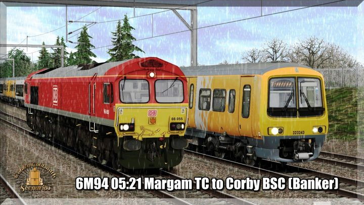6M94 0521 Margam TC to Corby BSC (Banker)