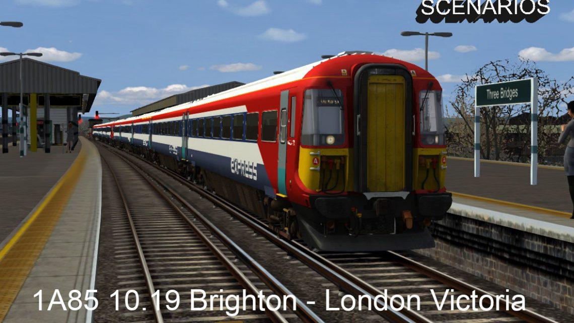 1A85 10.19 Brighton – London Victoria