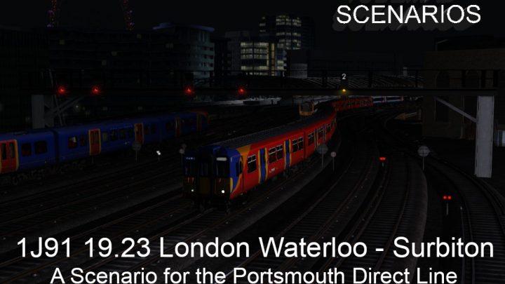 1J91 19.23 London Waterloo – Surbiton