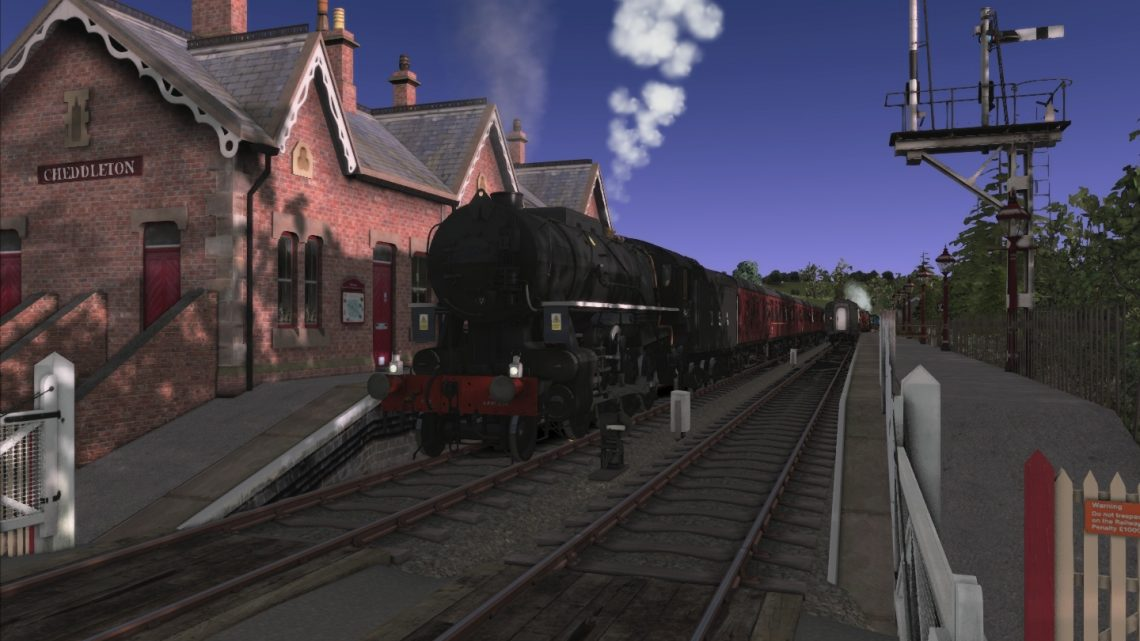 JCS – Churnet Valley Railway Workings Scenario Pack – VP CVR Route