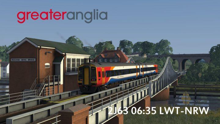 2J63 06:35 Lowestoft-Norwich