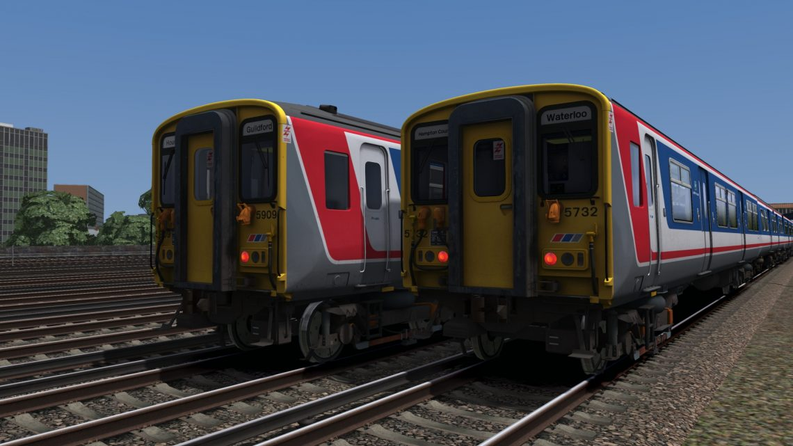 AP Class 455 EP Vol. 1 – NSE (SWL) White Blinds Patch
