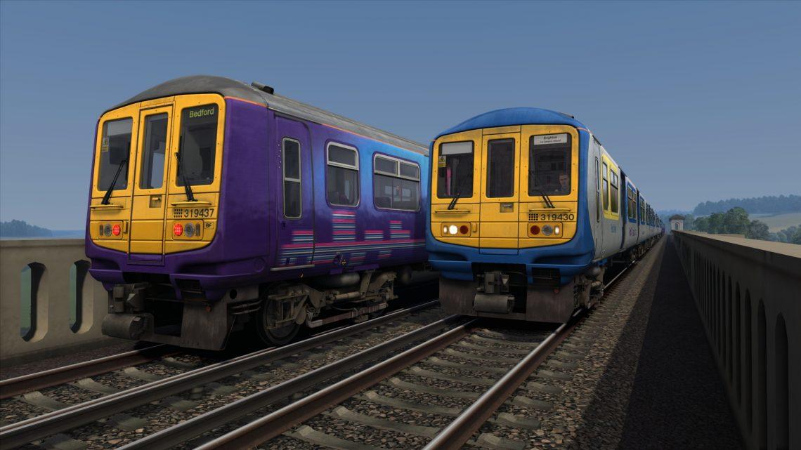 1T11: 0700 Bedford to Brighton (2009)