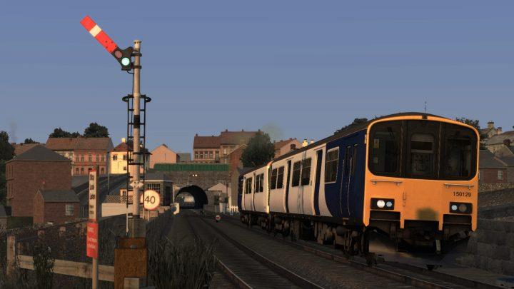 2C51 17:29 York to Harrogate
