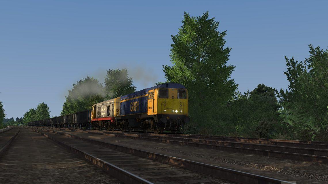6Z20 1752 Kellingley Colliery to Chaddesden Sdgs