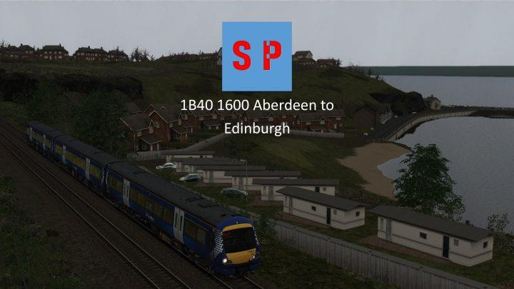 1B40 1600 Aberdeen to Edinburgh