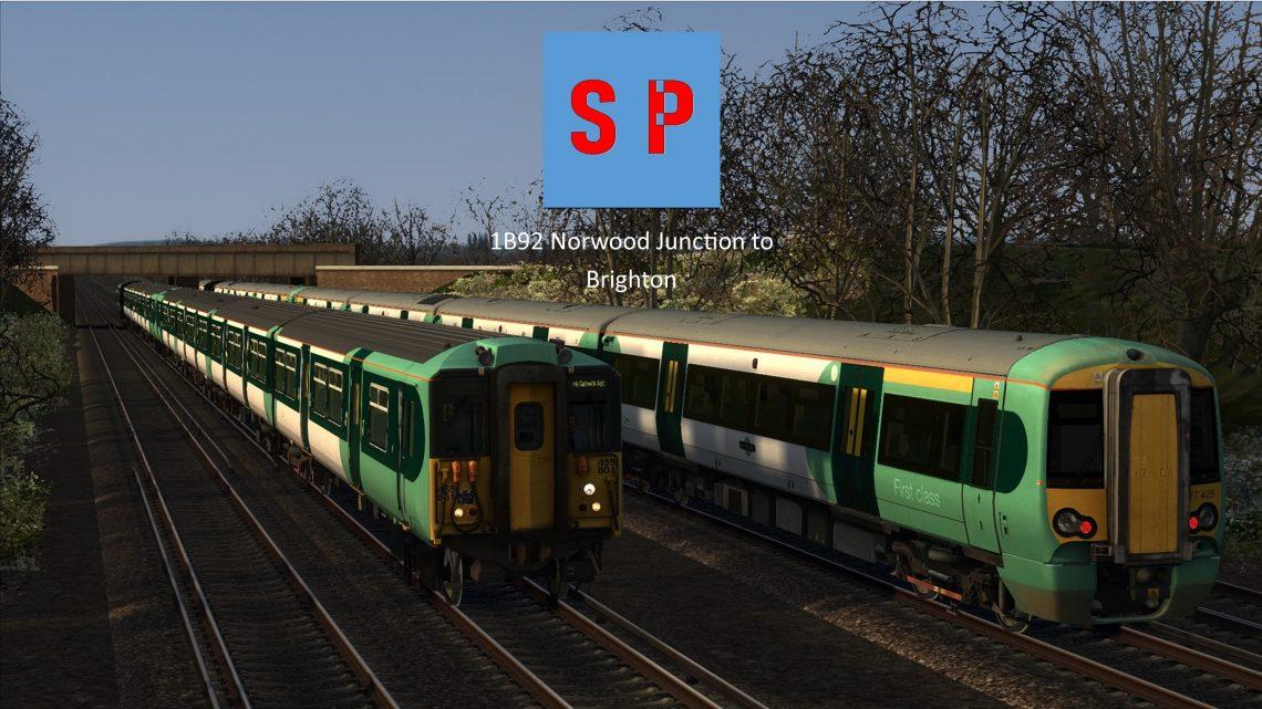 1B92 Norwood Junction to Brighton
