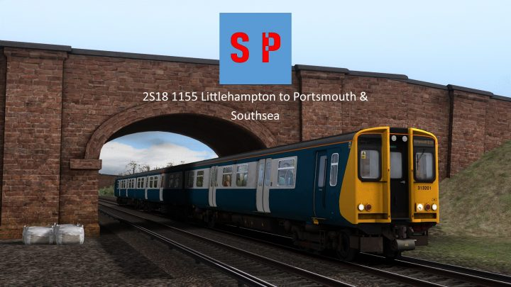 2S18 1155 Littlehampton to Portsmouth & Southsea
