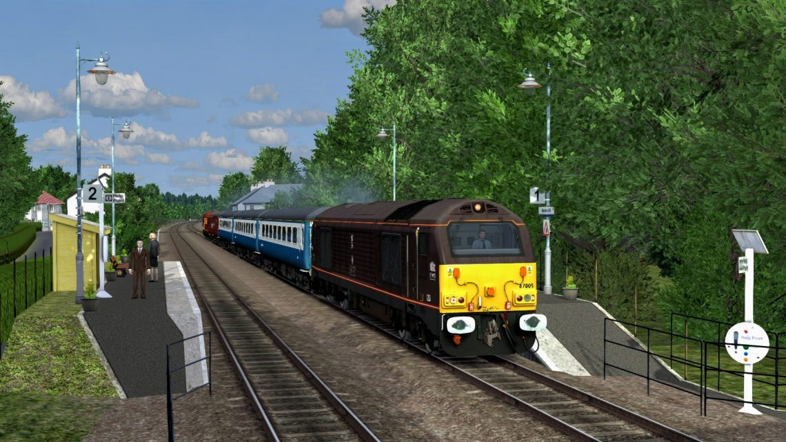 [SC] 2V67 Weymouth – Bristol Temple Meads