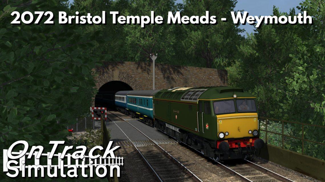 [OTS] 2O72 Bristol Temple Meads – Weymouth
