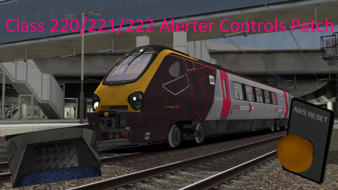 Class 220/221/222 Alerter controls patch