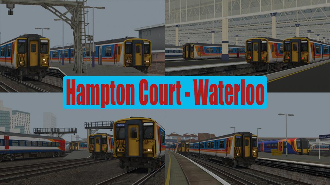 [YaBoyZainG4m3r] Hampton Court to London Waterloo (2004)