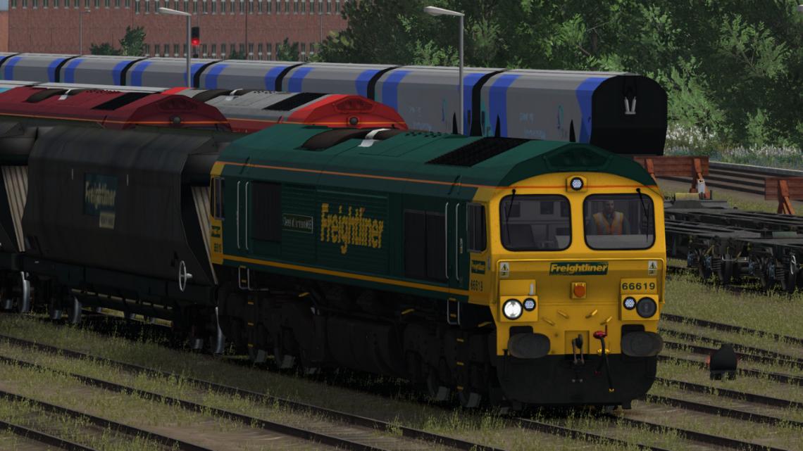 1045 656A: York South Yard – Milford West Sidings