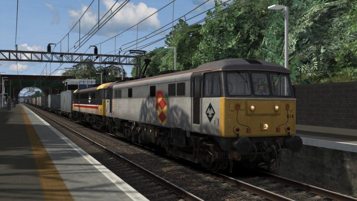 4M80 1320 Coatbridge FLT to Crewe BH (1993)