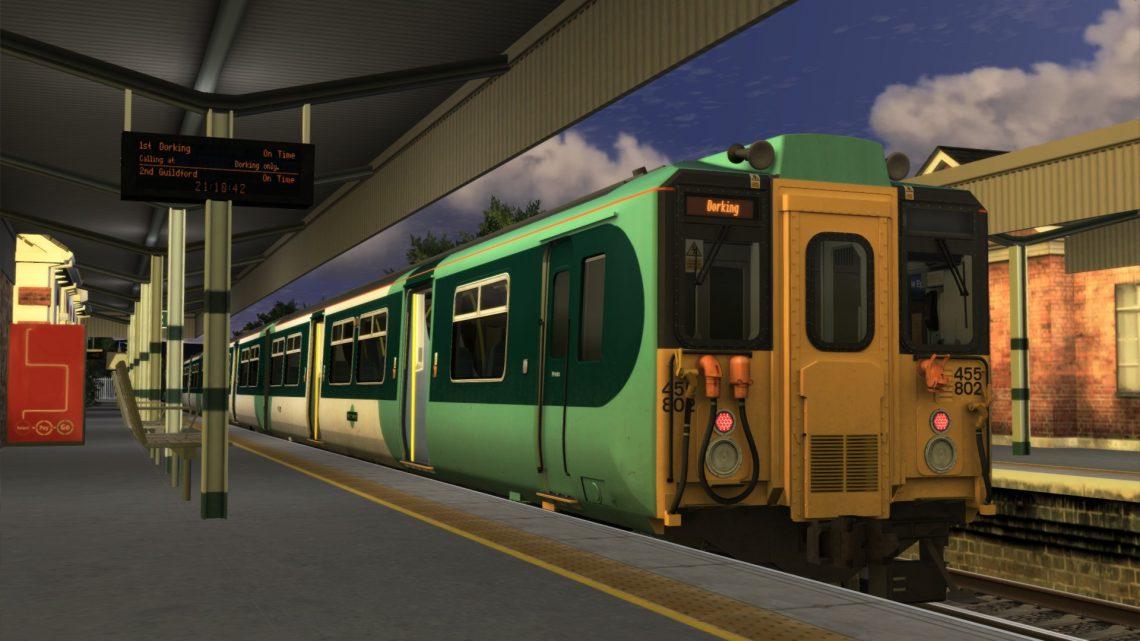 2E02 2020 London Victoria to Dorking