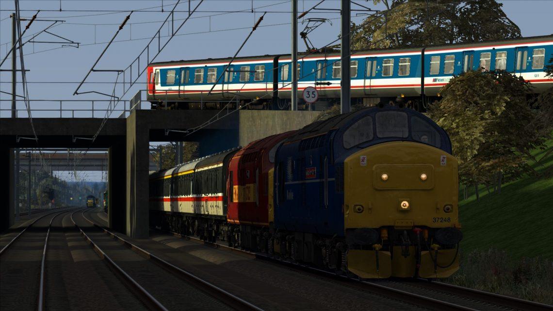 1Z46 08:00 Kings Cross – Newcastle: The East Coast Diversions Railtour 1998 (Part 1)