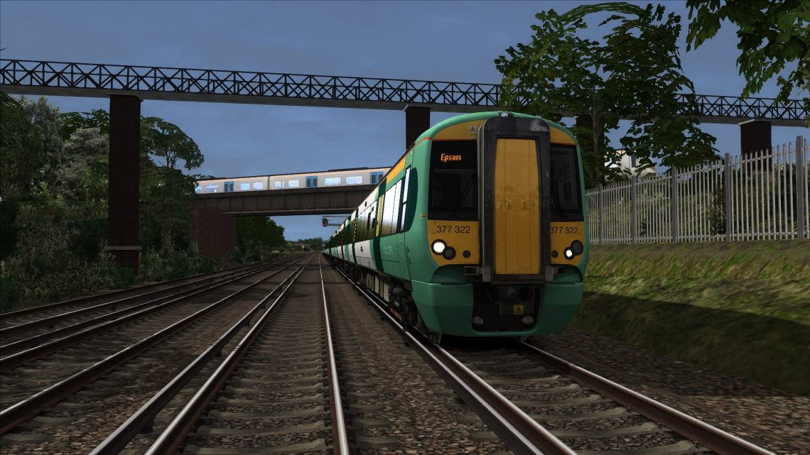 1K47 16:55 London Bridge to Epsom