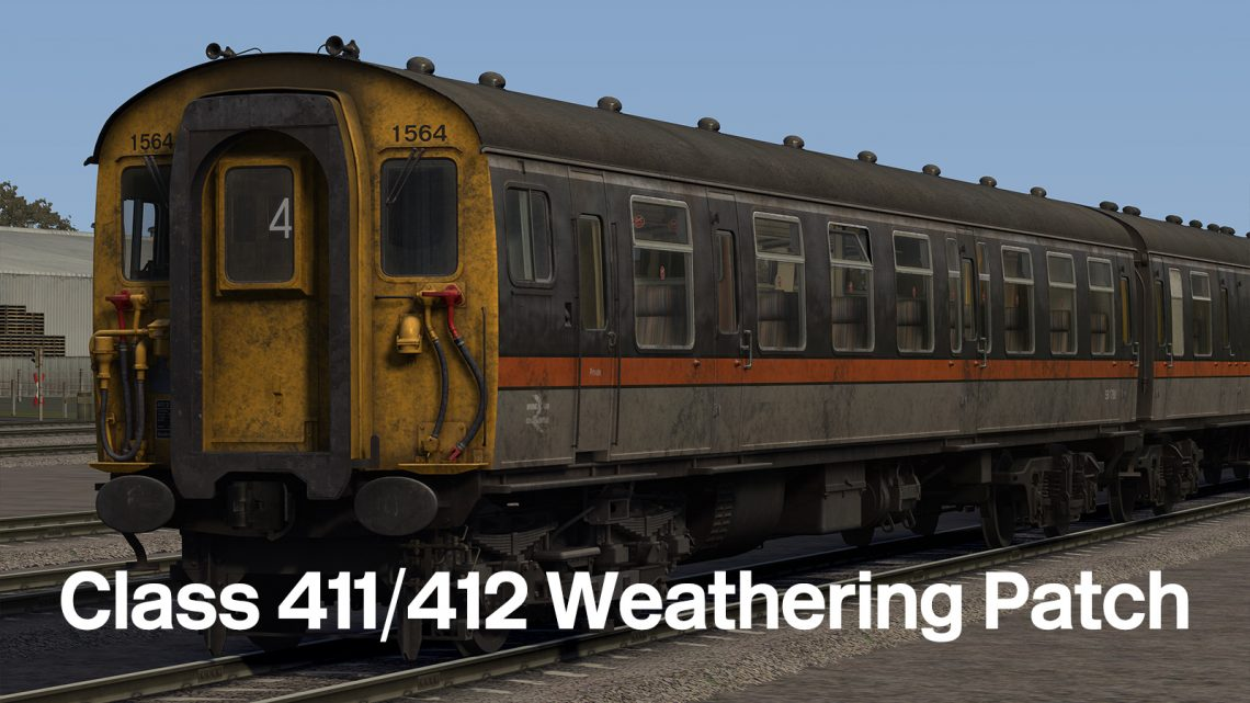 Class 411/412 Weathering Patch