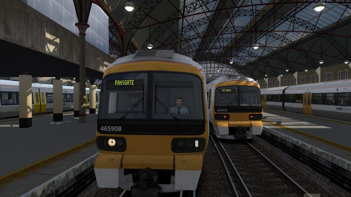 1S22 0910 London Victoria to Ramsgate
